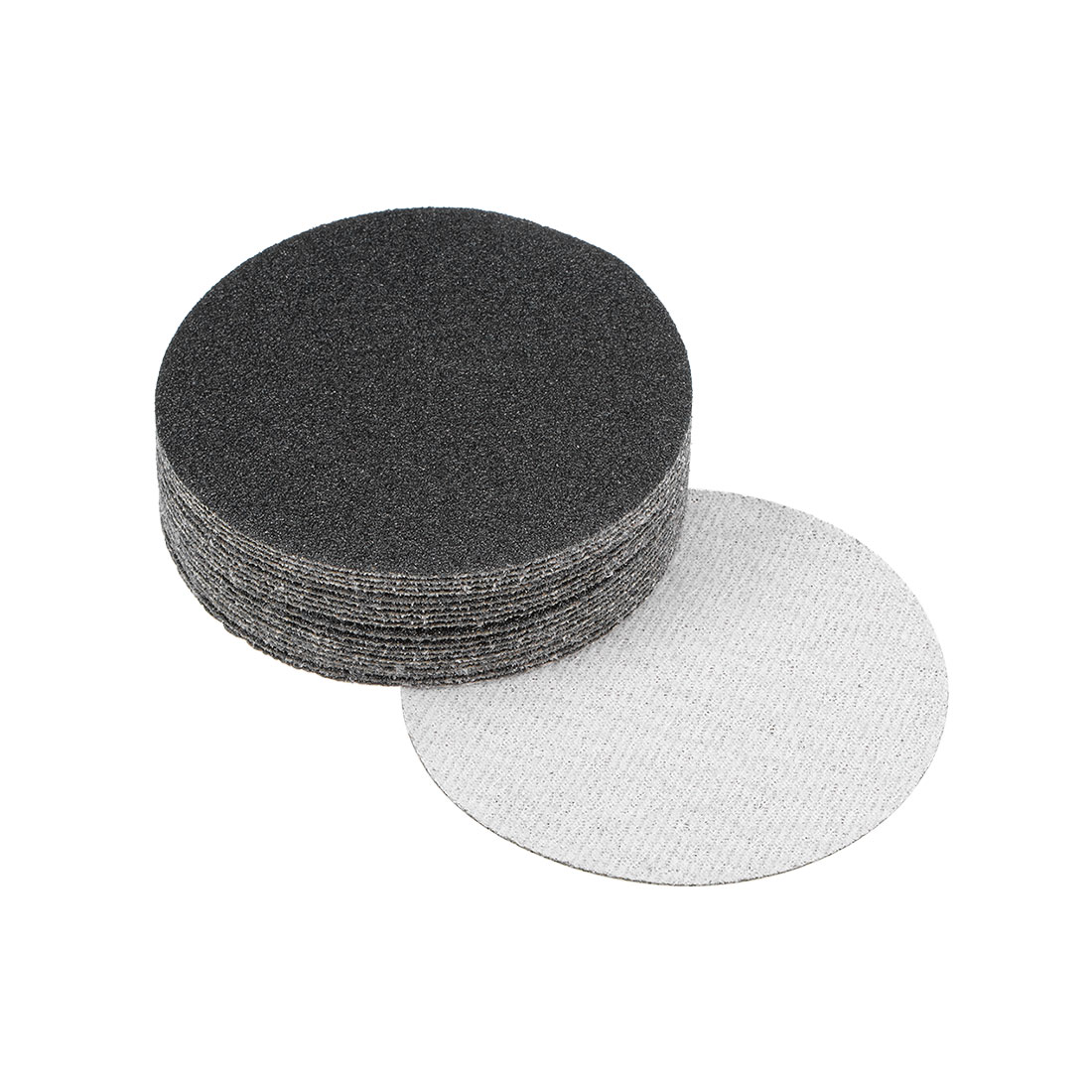 3 inch Wet Dry Discs 60 Grit Hook and Loop Sanding Disc Silicon Carbide 20pcs