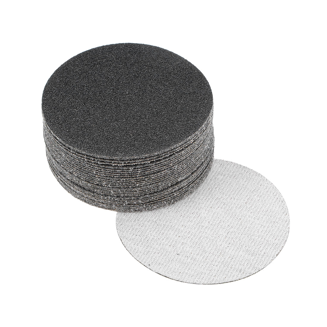 3 inch Wet Dry Discs 60 Grit Hook and Loop Sanding Disc Silicon Carbide 30pcs
