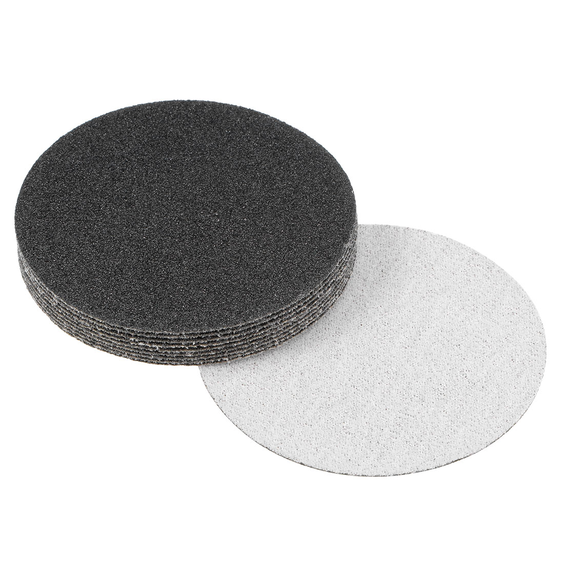 3 inch Wet Dry Discs 80 Grit Hook and Loop Sanding Disc Silicon Carbide 10pcs