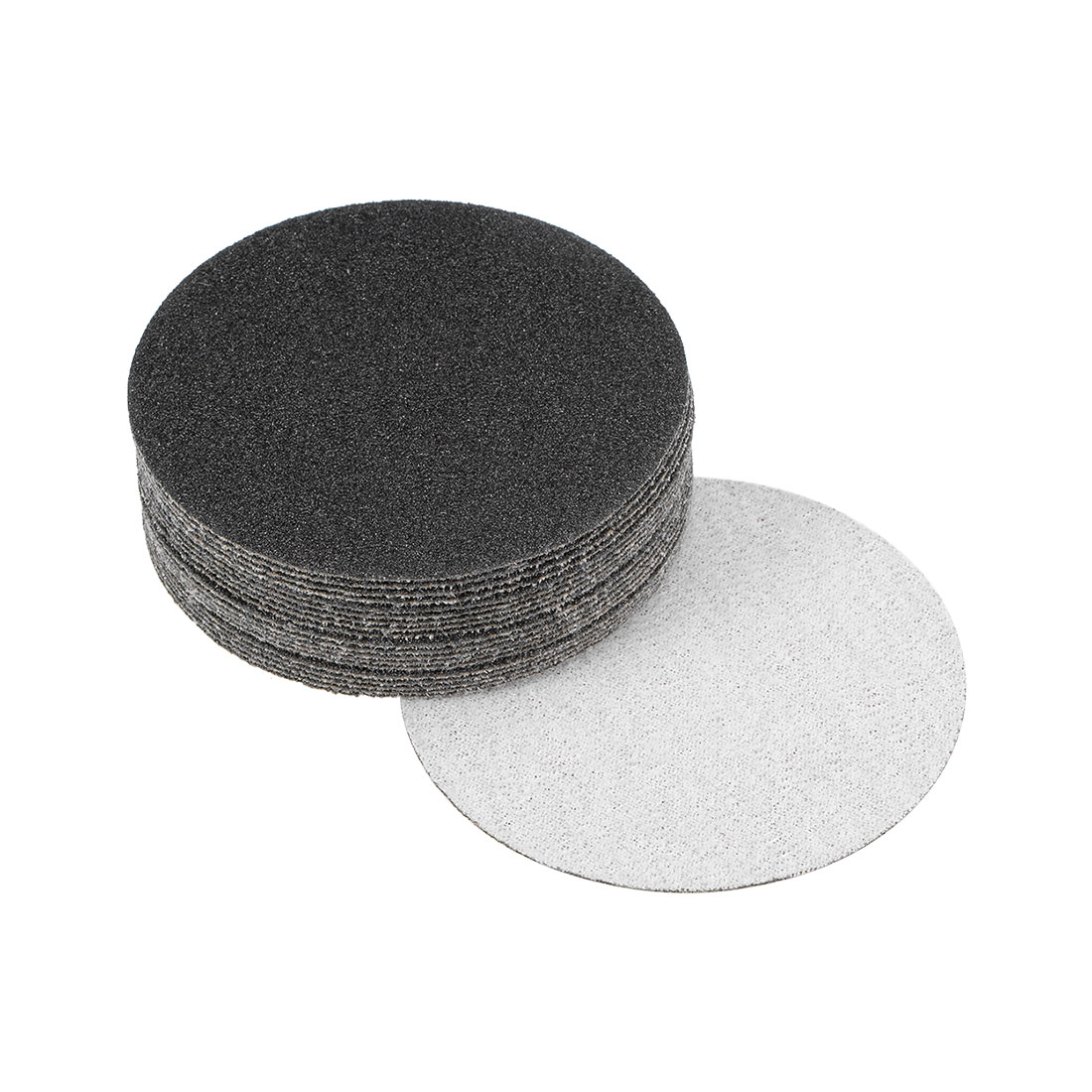 3 inch Wet Dry Discs 80 Grit Hook and Loop Sanding Disc Silicon Carbide 20pcs