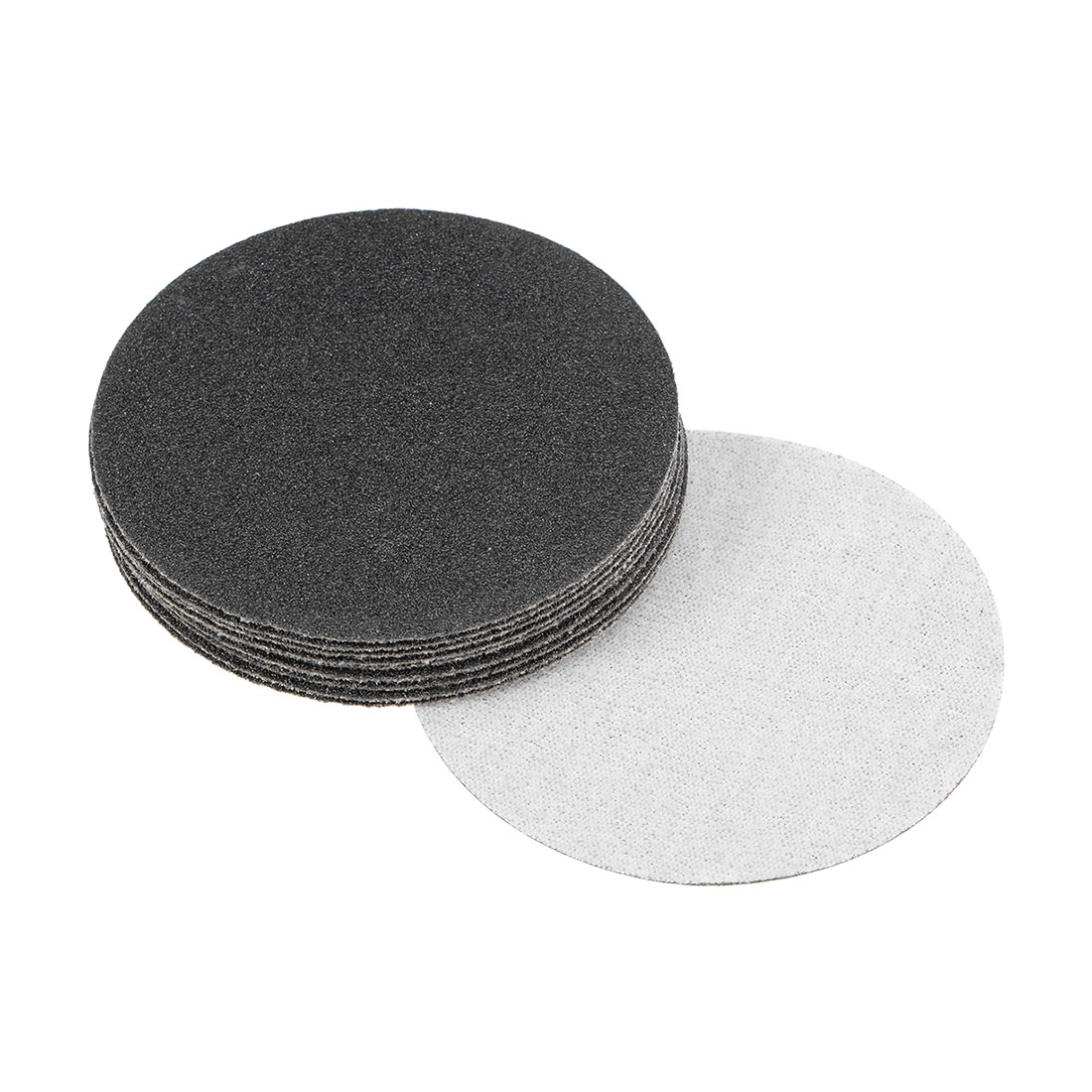 3 inch Wet Dry Discs 100 Grit Hook and Loop Sanding Disc Silicon Carbide 10pcs