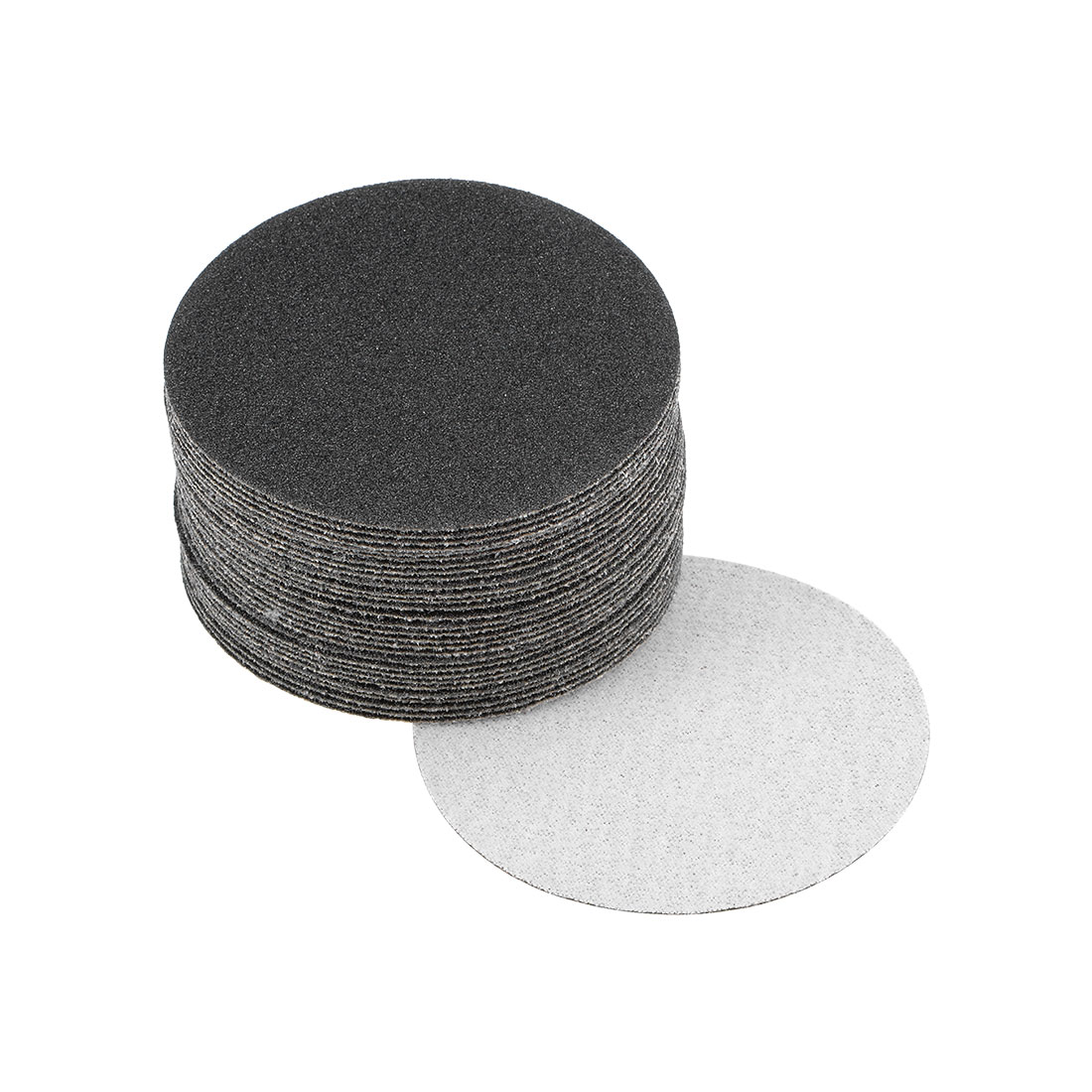 3 inch Wet Dry Discs 100 Grit Hook and Loop Sanding Disc Silicon Carbide 30pcs