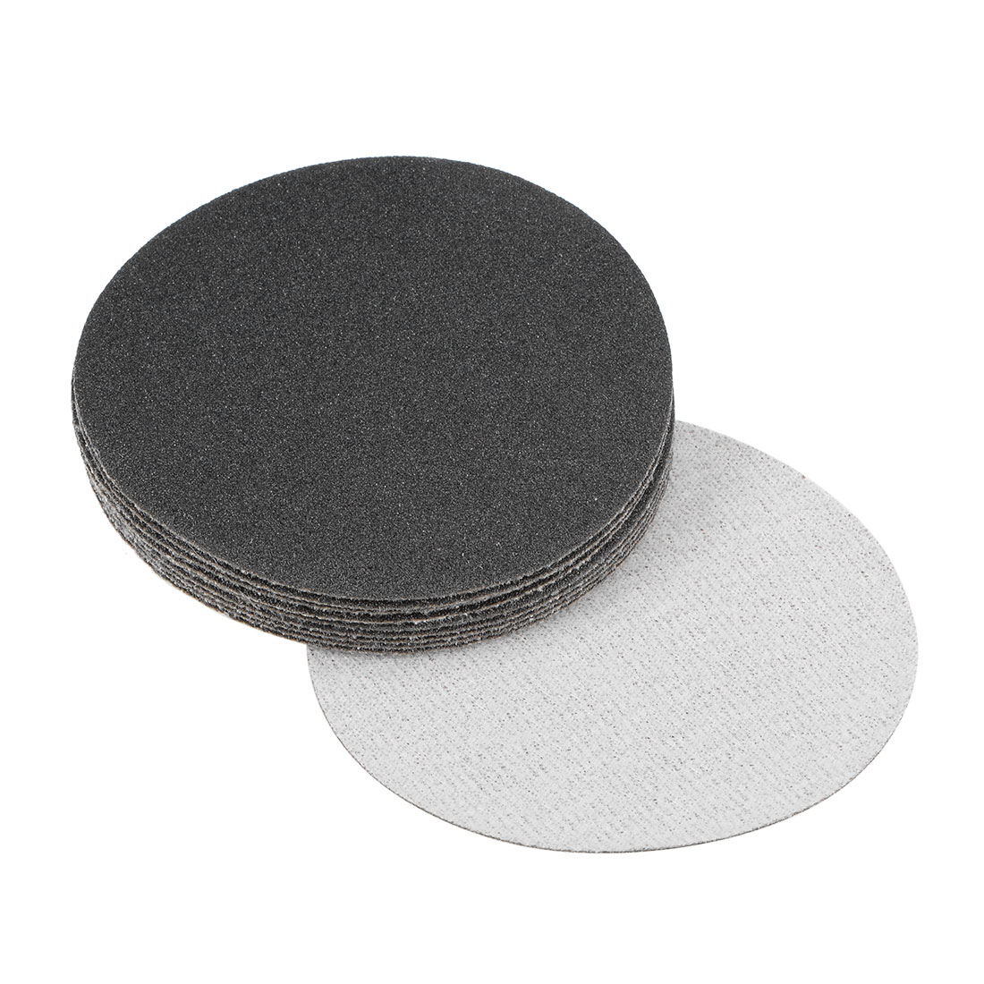 3 inch Wet Dry Discs 120 Grit Hook and Loop Sanding Disc Silicon Carbide 10pcs