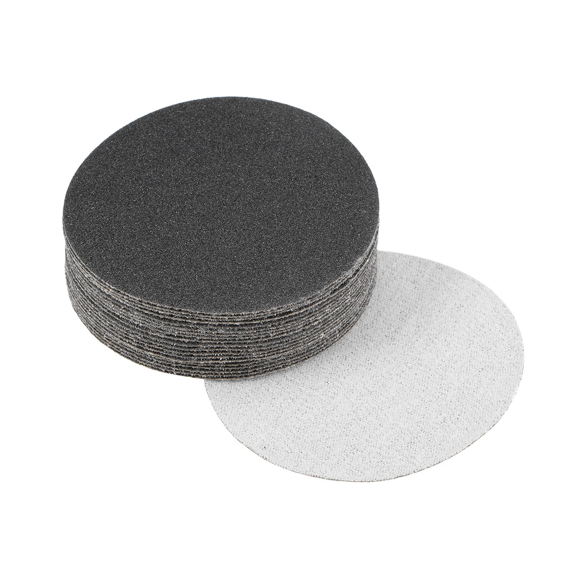 3 inch Wet Dry Discs 120 Grit Hook and Loop Sanding Disc Silicon Carbide 20pcs
