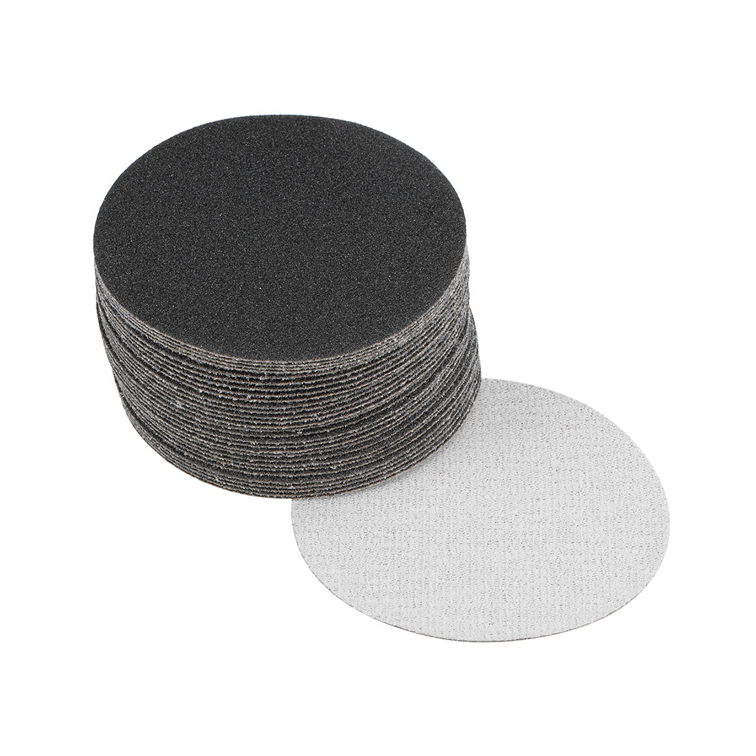 3 inch Wet Dry Discs 120 Grit Hook and Loop Sanding Disc Silicon Carbide 30pcs