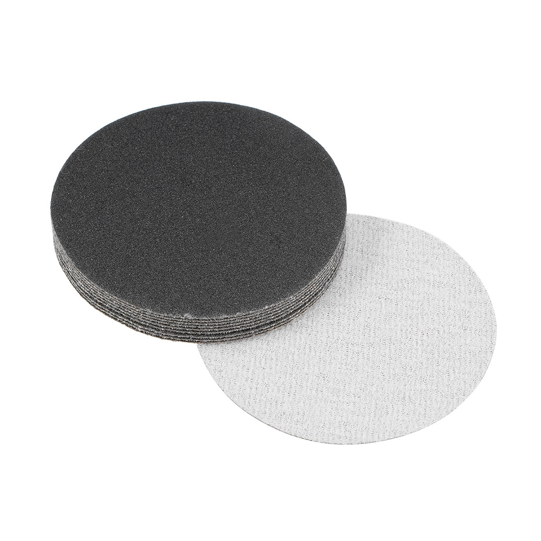 3 inch Wet Dry Discs 150 Grit Hook and Loop Sanding Disc Silicon Carbide 10pcs