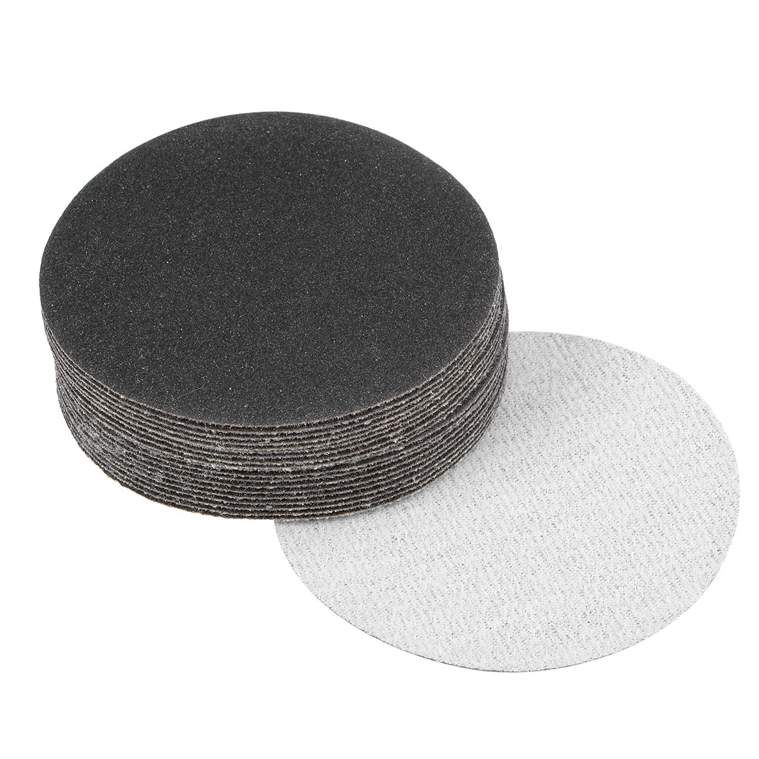3 inch Wet Dry Discs 180 Grit Hook and Loop Sanding Disc Silicon Carbide 20pcs