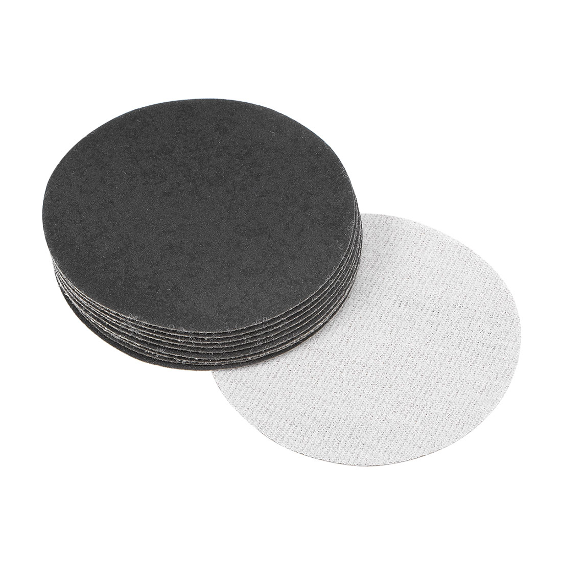 3 inch Wet Dry Discs 320 Grit Hook and Loop Sanding Disc Silicon Carbide 10pcs