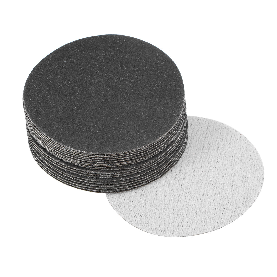 3 inch Wet Dry Discs 320 Grit Hook and Loop Sanding Disc Silicon Carbide 20pcs