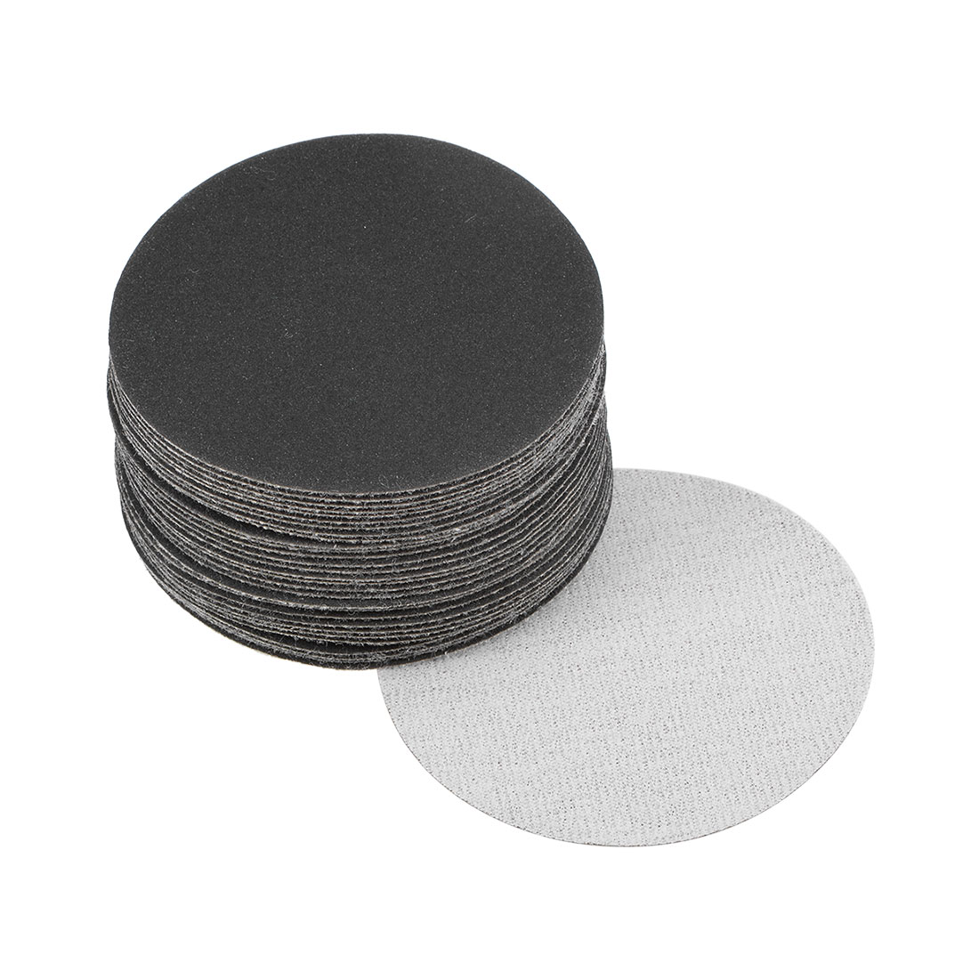3 inch Wet Dry Discs 320 Grit Hook and Loop Sanding Disc Silicon Carbide 30pcs