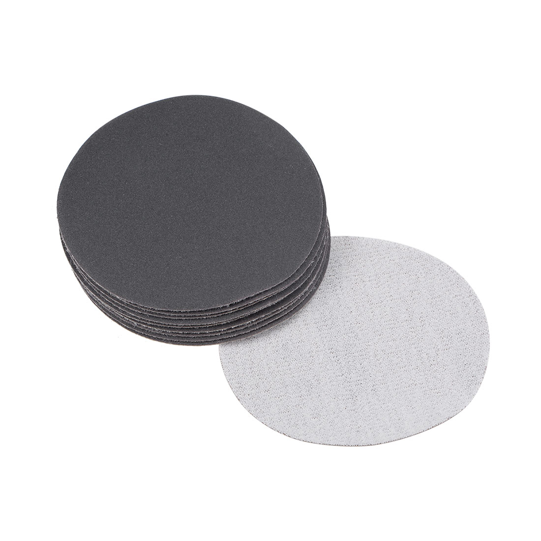 3 inch Wet Dry Discs 400 Grit Hook and Loop Sanding Disc Silicon Carbide 10pcs