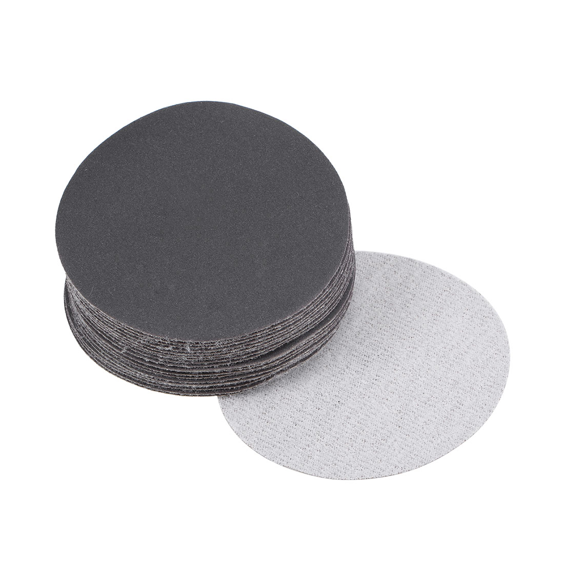 3 inch Wet Dry Discs 400 Grit Hook and Loop Sanding Disc Silicon Carbide 20pcs