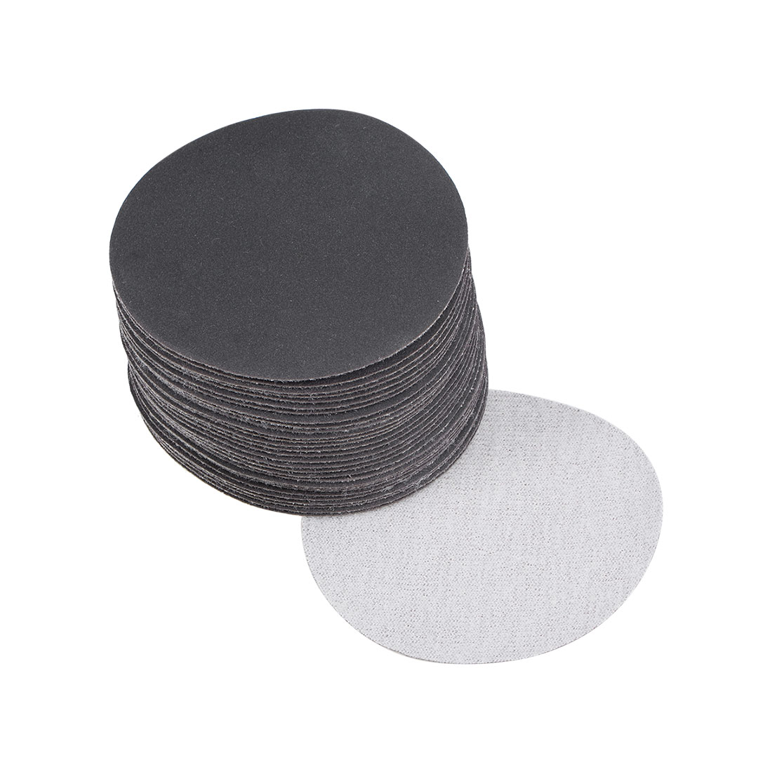 3 inch Wet Dry Discs 400 Grit Hook and Loop Sanding Disc Silicon Carbide 30pcs