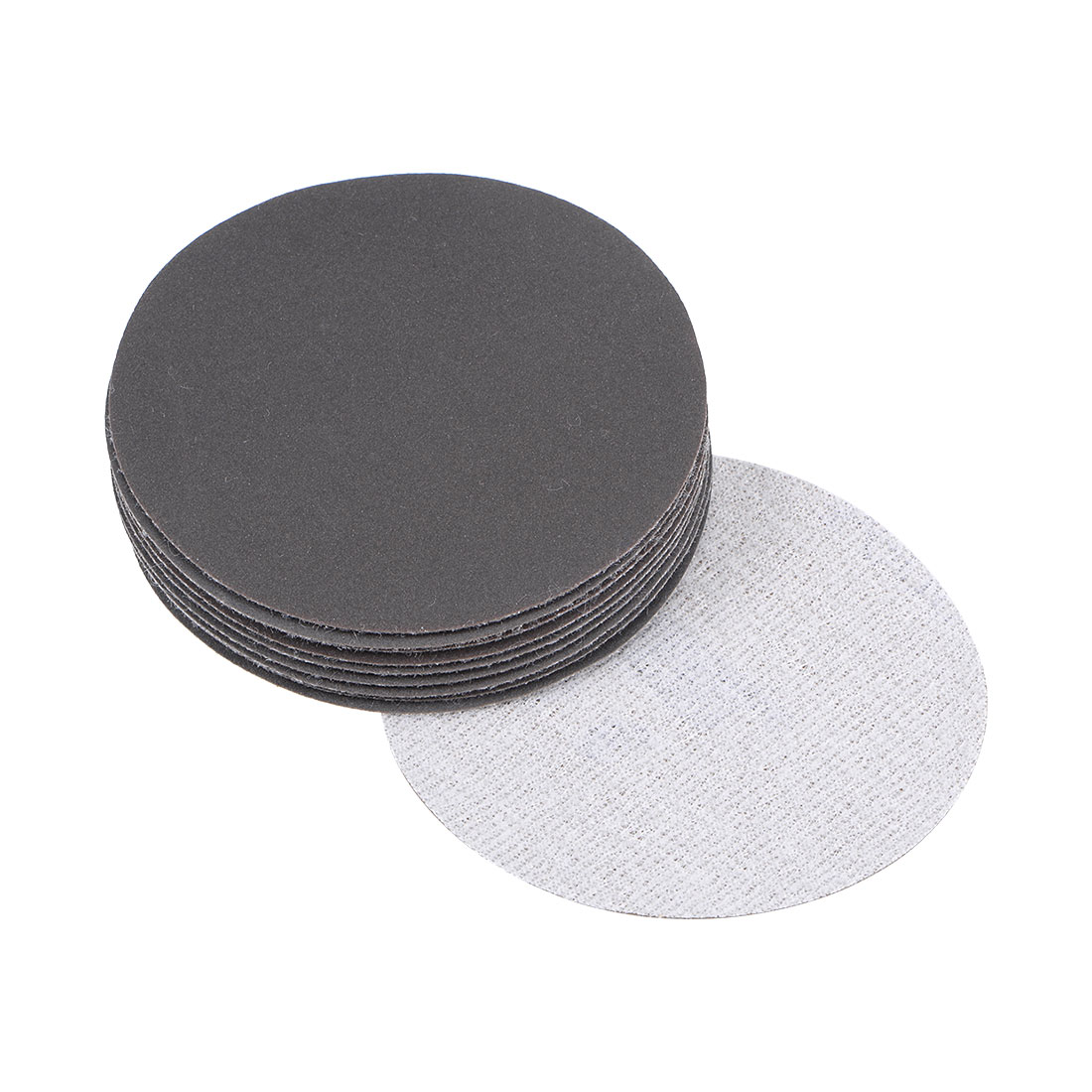 3 inch Wet Dry Discs 600 Grit Hook and Loop Sanding Disc Silicon Carbide 10pcs