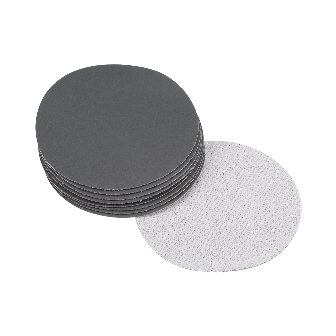 3 inch Wet Dry Discs 1200 Grit Hook and Loop Sanding Disc Silicon Carbide 10pcs