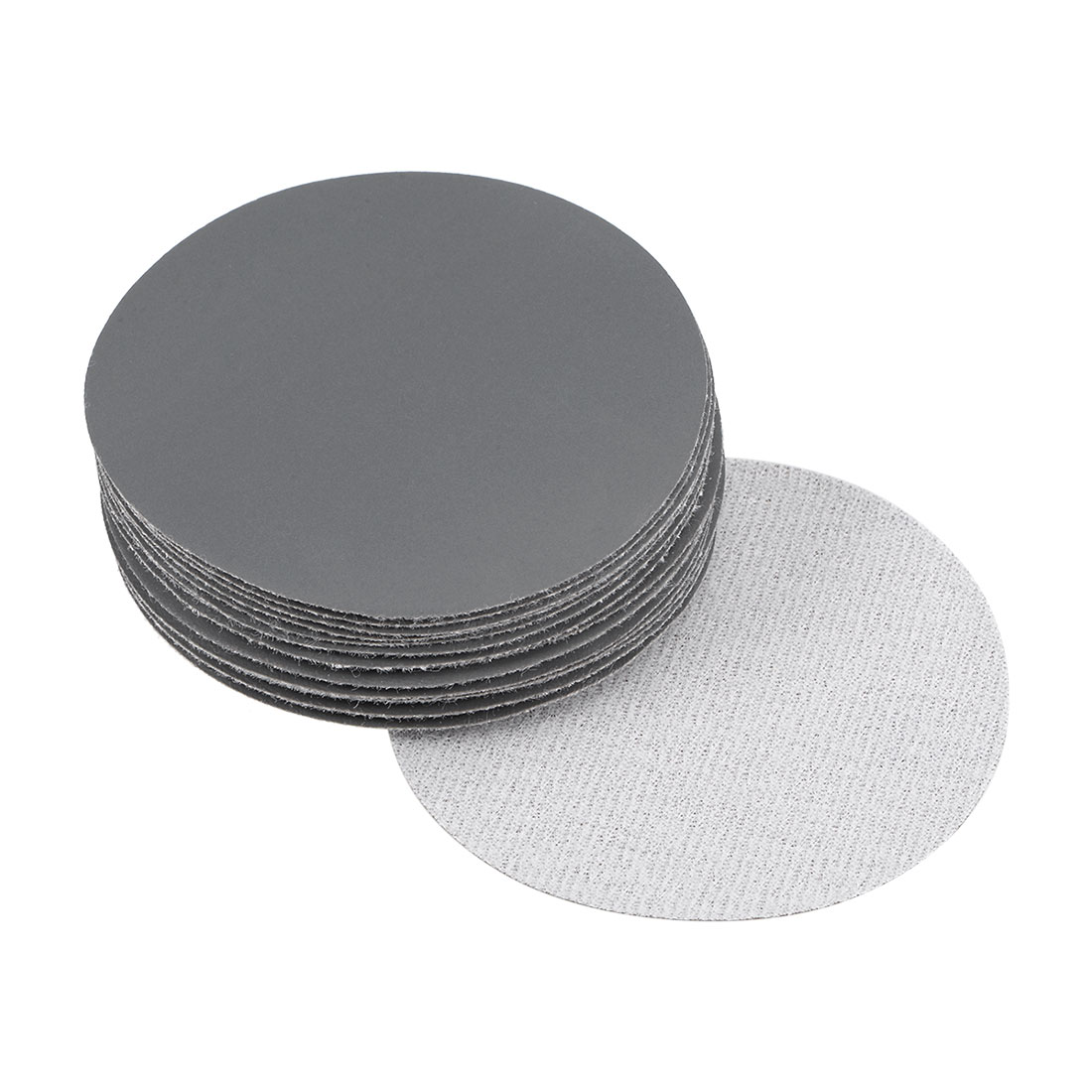3 inch Wet Dry Discs 2500 Grit Hook and Loop Sanding Disc Silicon Carbide 20pcs