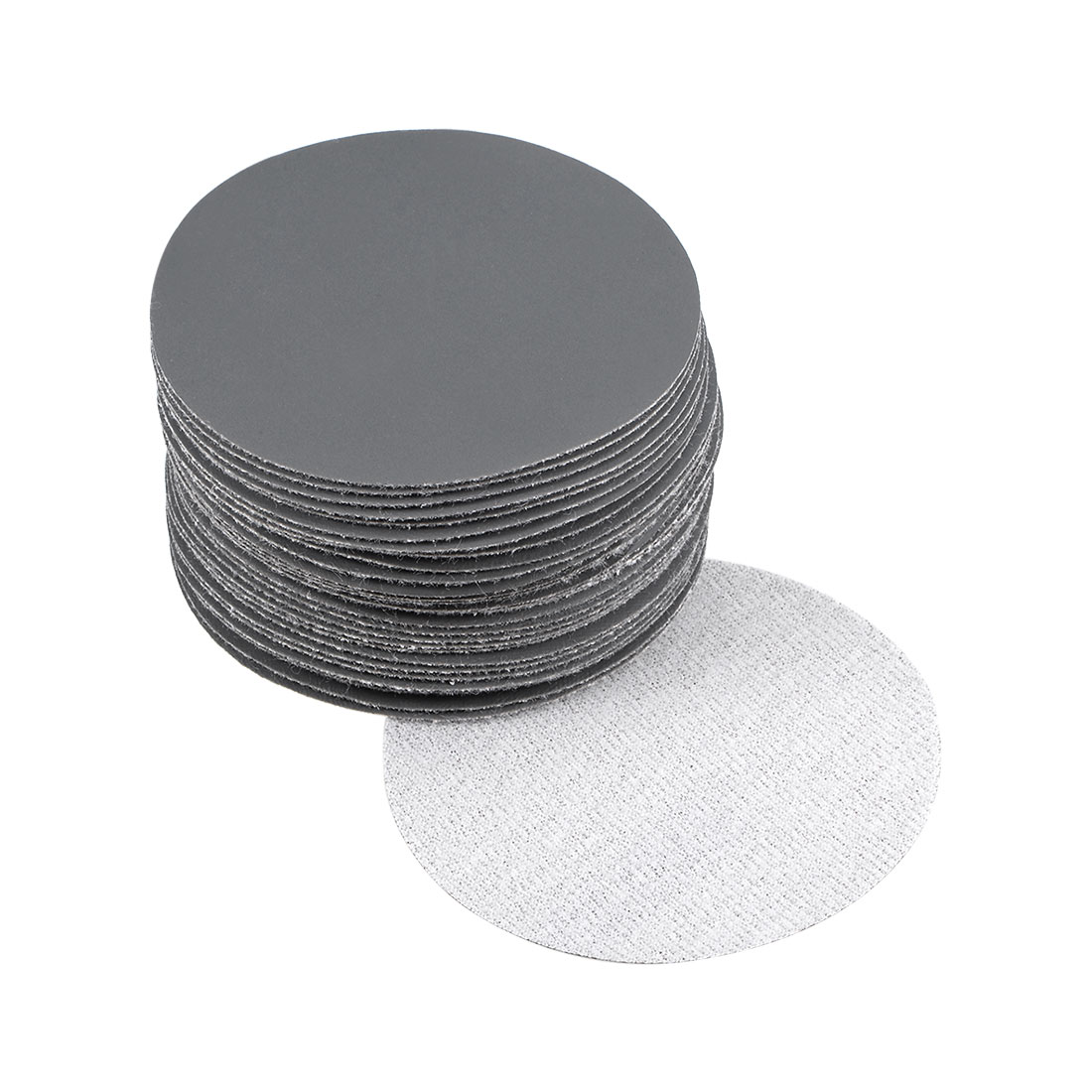 3 inch Wet Dry Discs 2500 Grit Hook and Loop Sanding Disc Silicon Carbide 30pcs