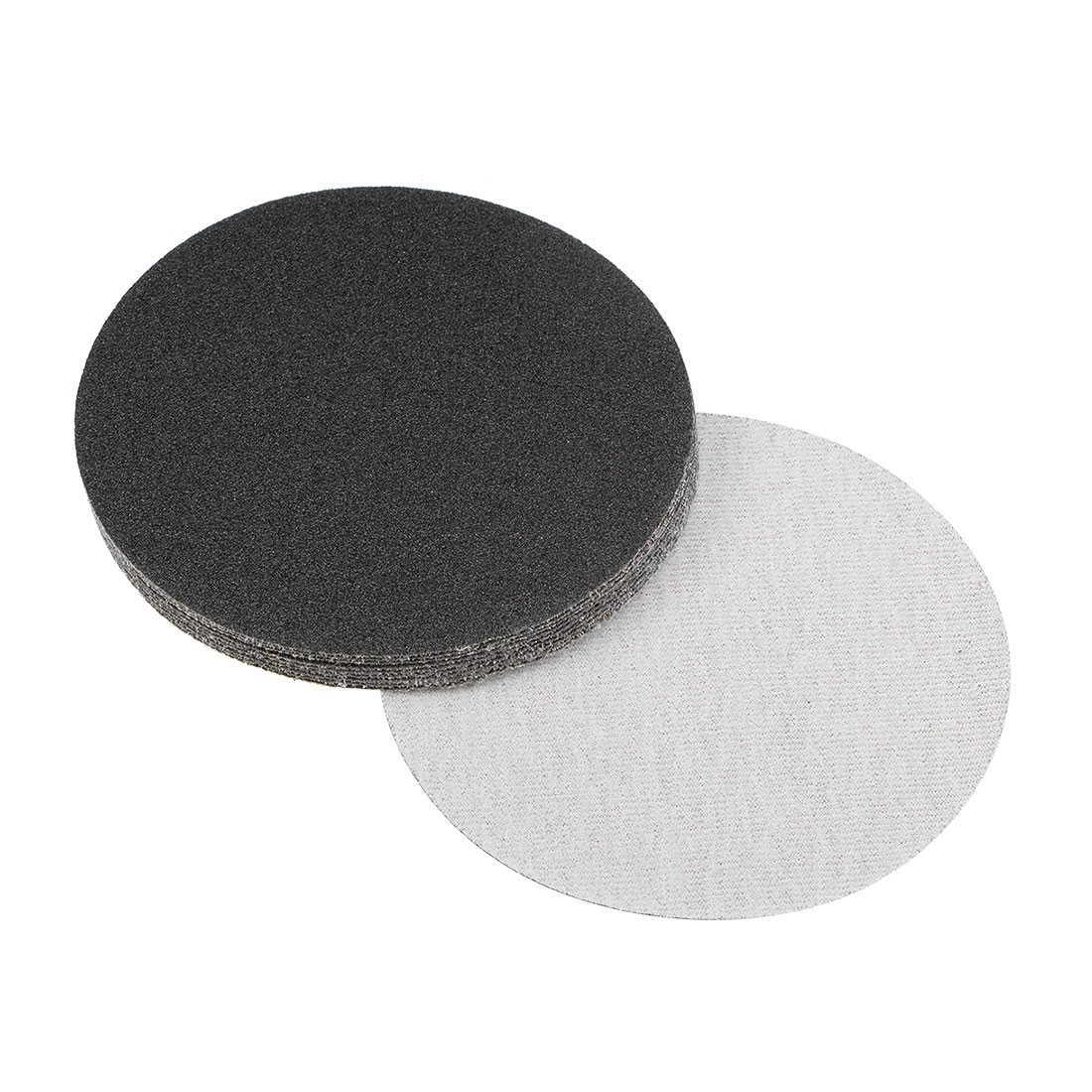 5 inch Wet Dry Discs 60 Grit Hook and Loop Sanding Disc Silicon Carbide 10pcs