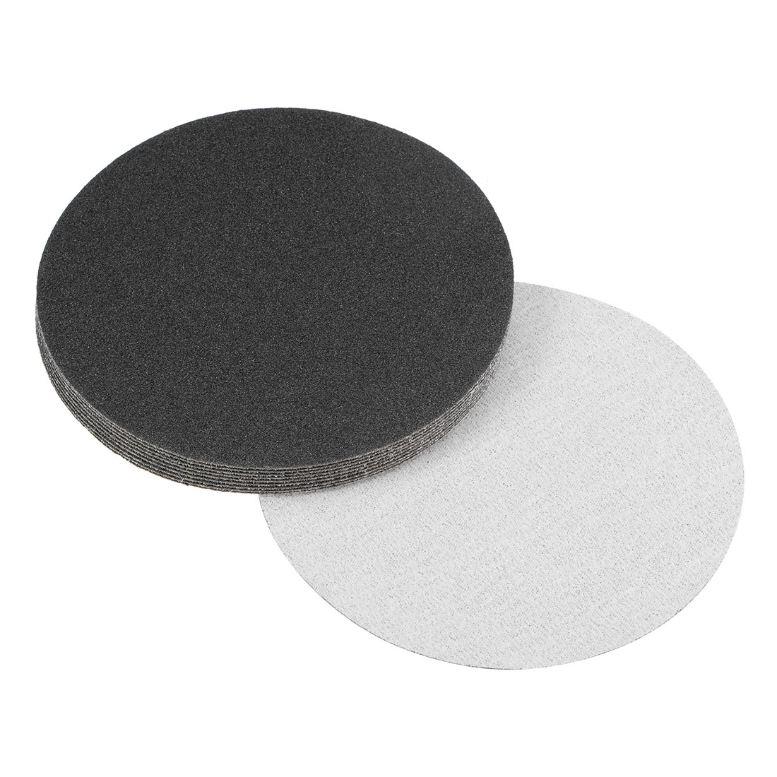 5 inch Wet Dry Discs 120 Grit Hook and Loop Sanding Disc Silicon Carbide 10pcs