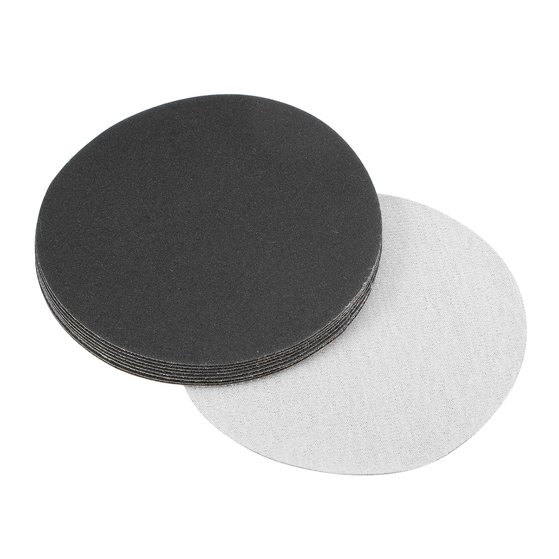 5 inch Wet Dry Discs 240 Grit Hook and Loop Sanding Disc Silicon Carbide 10pcs