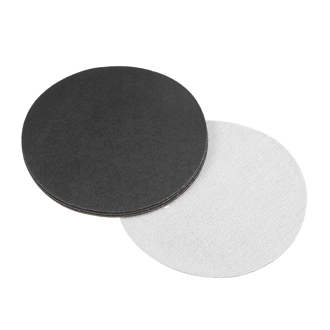 5 inch Wet Dry Discs 320 Grit Hook and Loop Sanding Disc Silicon Carbide 5pcs