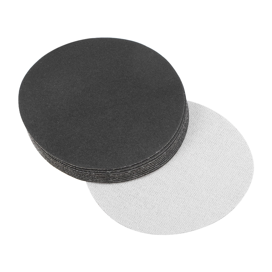 5 inch Wet Dry Discs 320 Grit Hook and Loop Sanding Disc Silicon Carbide 10pcs