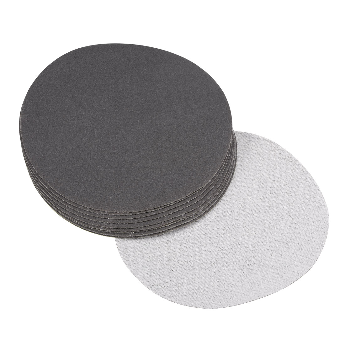 5 inch Wet Dry Discs 400 Grit Hook and Loop Sanding Disc Silicon Carbide 10pcs