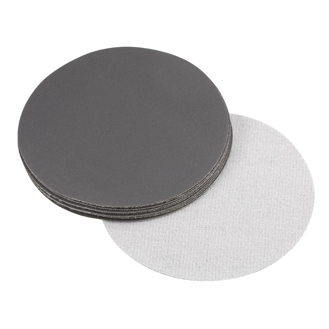 5 inch Wet Dry Discs 600 Grit Hook and Loop Sanding Disc Silicon Carbide 10pcs
