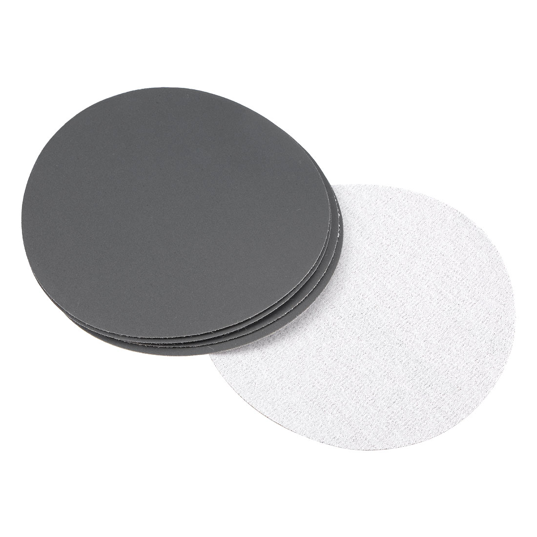 5 inch Wet Dry Discs 1200 Grit Hook and Loop Sanding Disc Silicon Carbide 5pcs