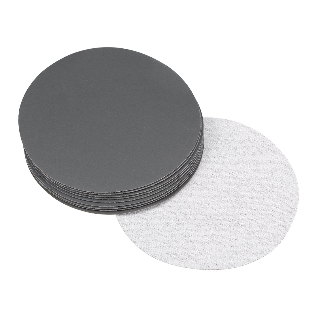 5 inch Wet Dry Discs 1200 Grit Hook and Loop Sanding Disc Silicon Carbide 10pcs