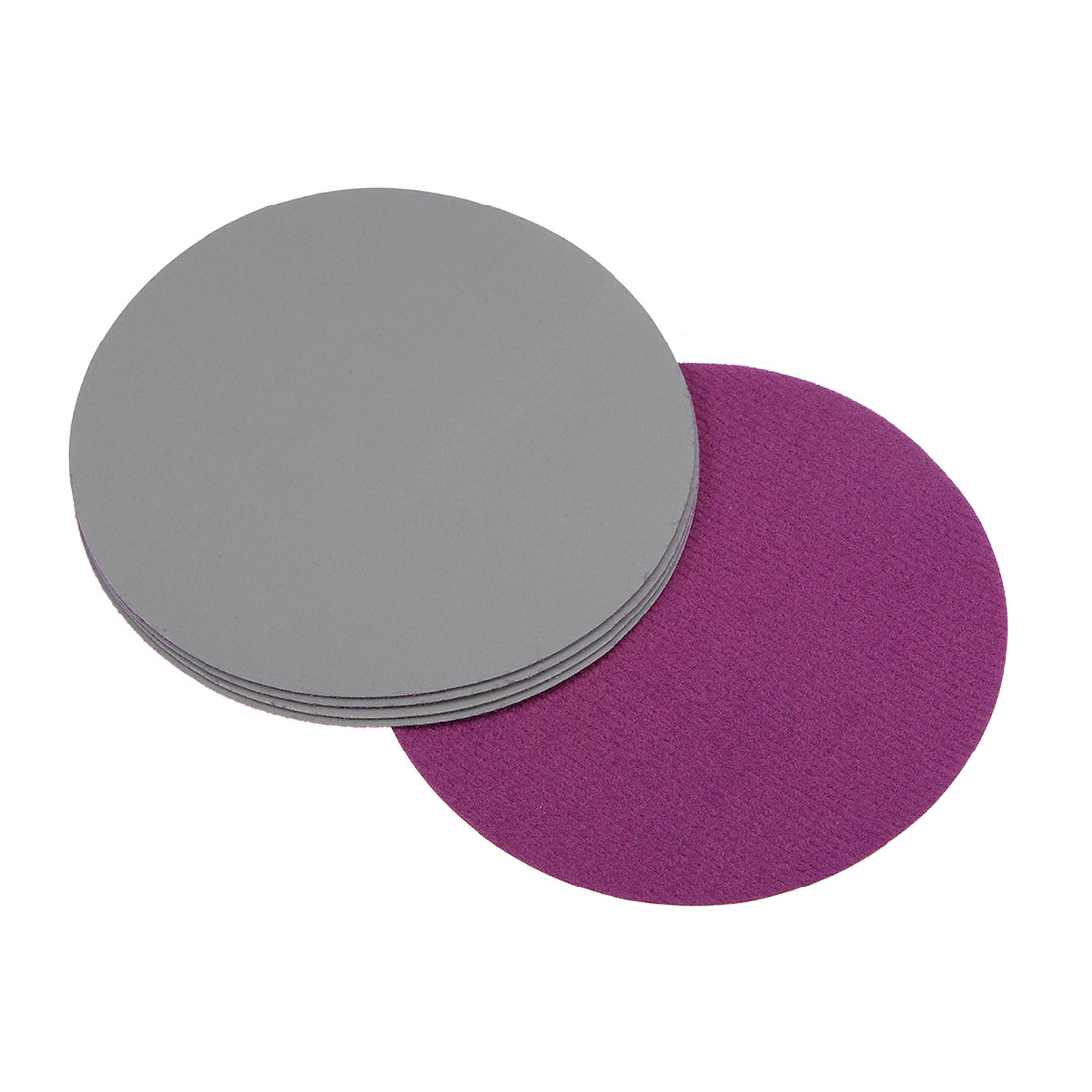 5 inch Wet Dry Discs 2000 Grit Hook and Loop Sanding Disc Silicon Carbide 5pcs