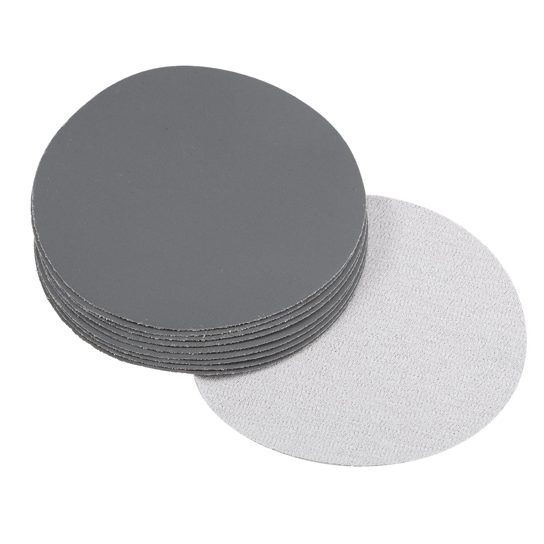 5 inch Wet Dry Discs 2500 Grit Hook and Loop Sanding Disc Silicon Carbide 10pcs