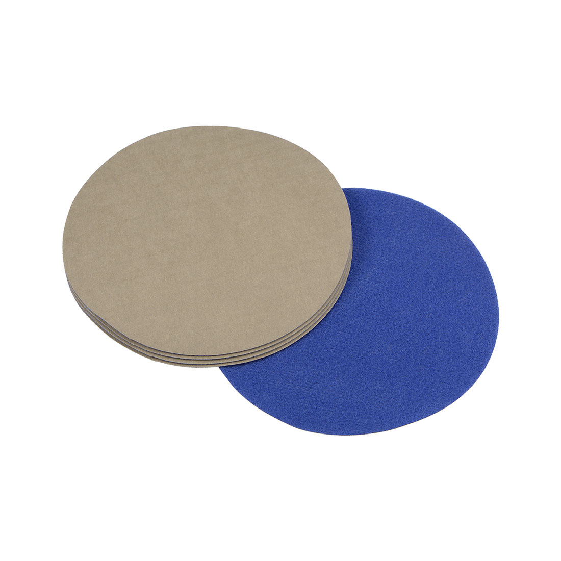 5 inch Wet Dry Discs 7000 Grit Hook and Loop Sanding Disc Silicon Carbide 5pcs