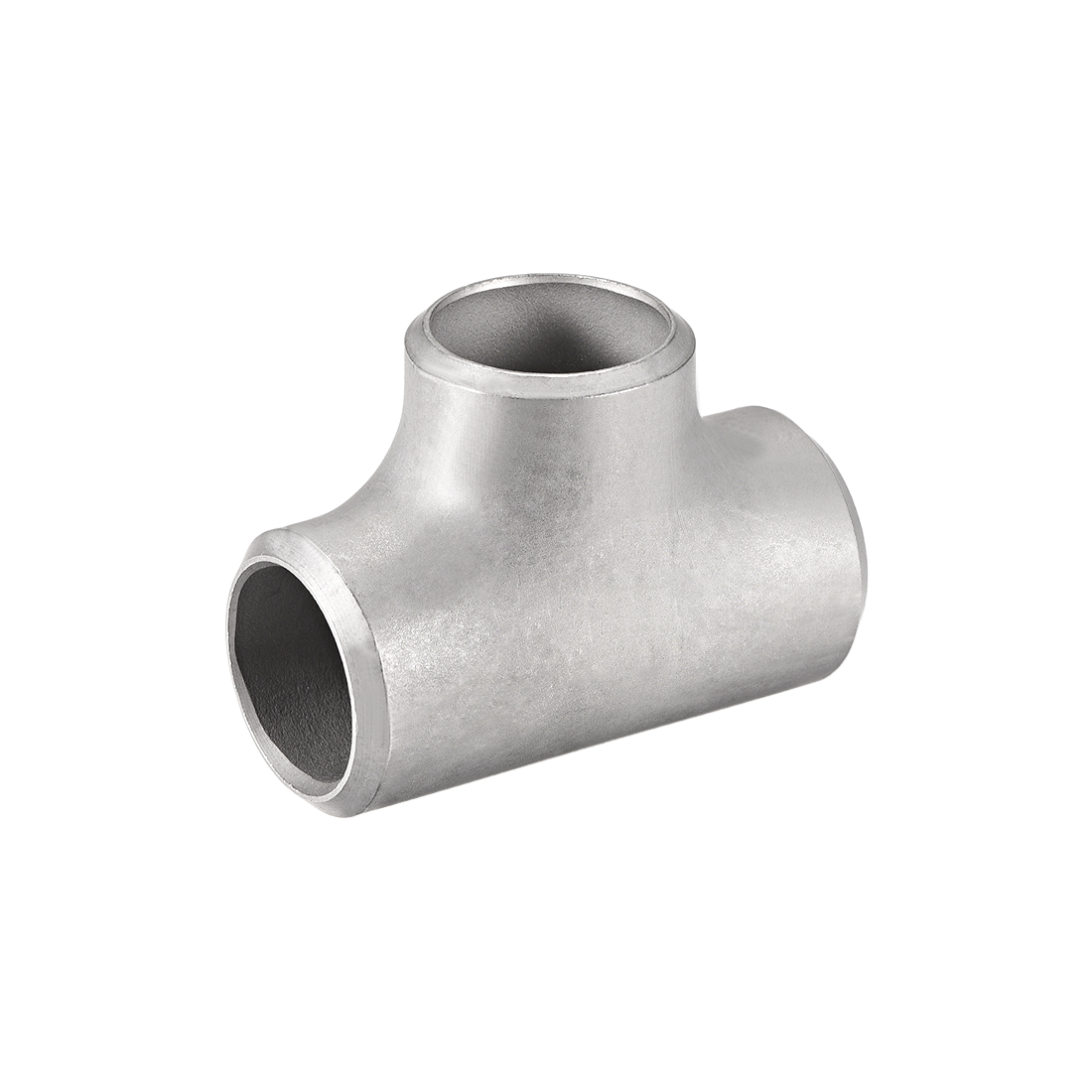 Stainless Steel 304 Pipe Fitting 21mmx22mmx21mm Tee Shaped Connector Coupler