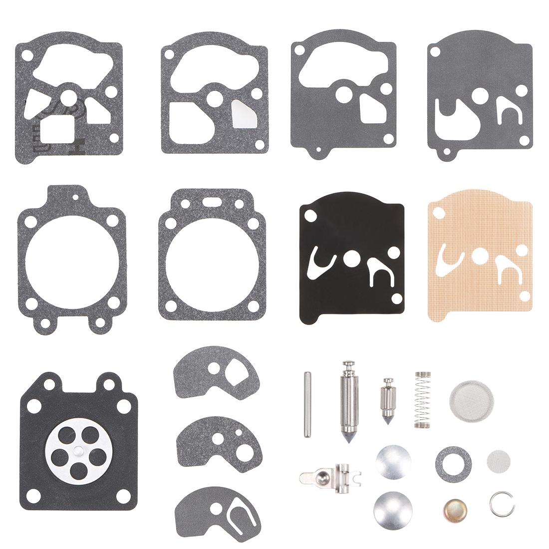 Carburetor Rebuild Kit Gasket Diaphragm for Chainsaw Edger