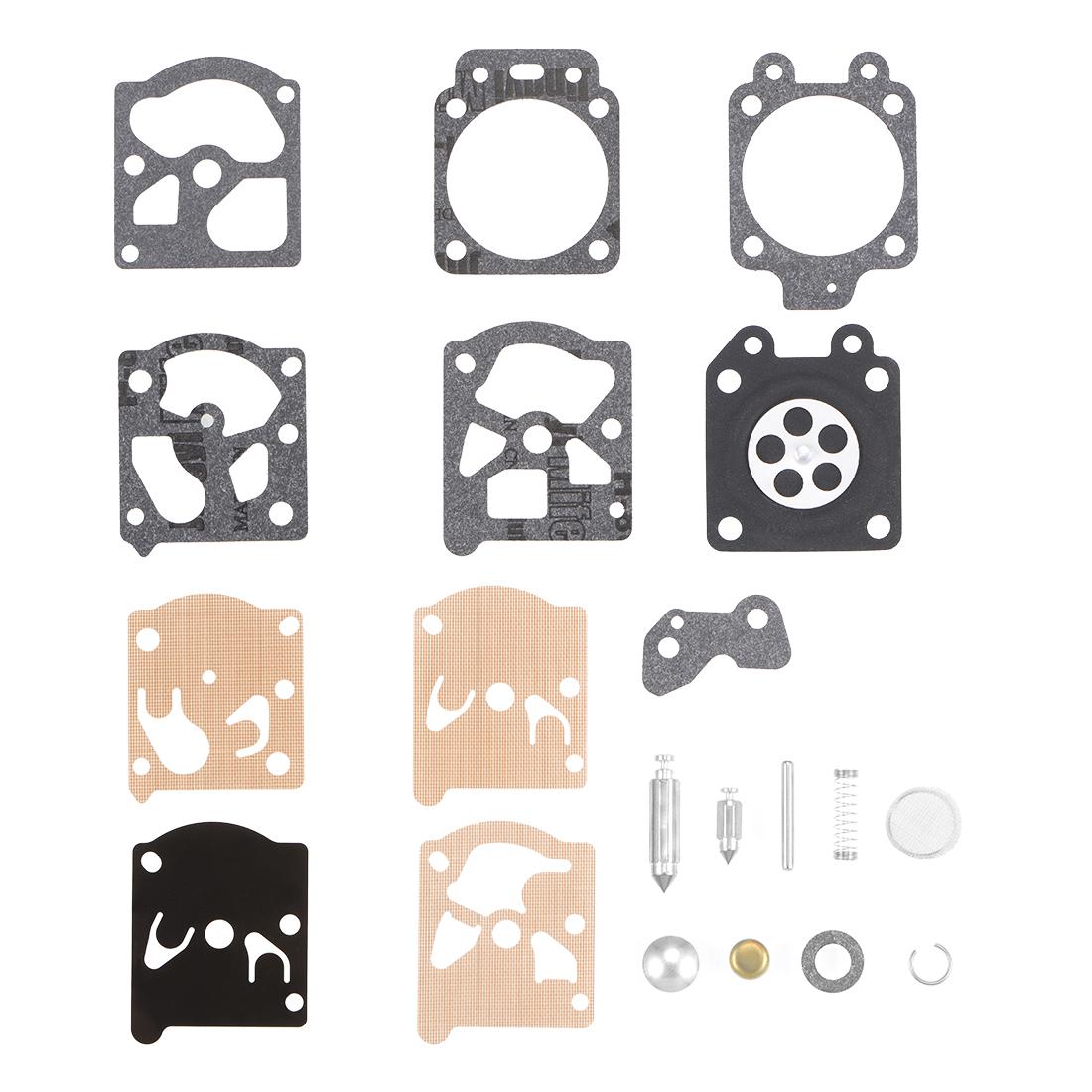 Carburetor Rebuild Kit Gasket for K20WAT Chainsaw String Trimmer Engines 2 Pcs