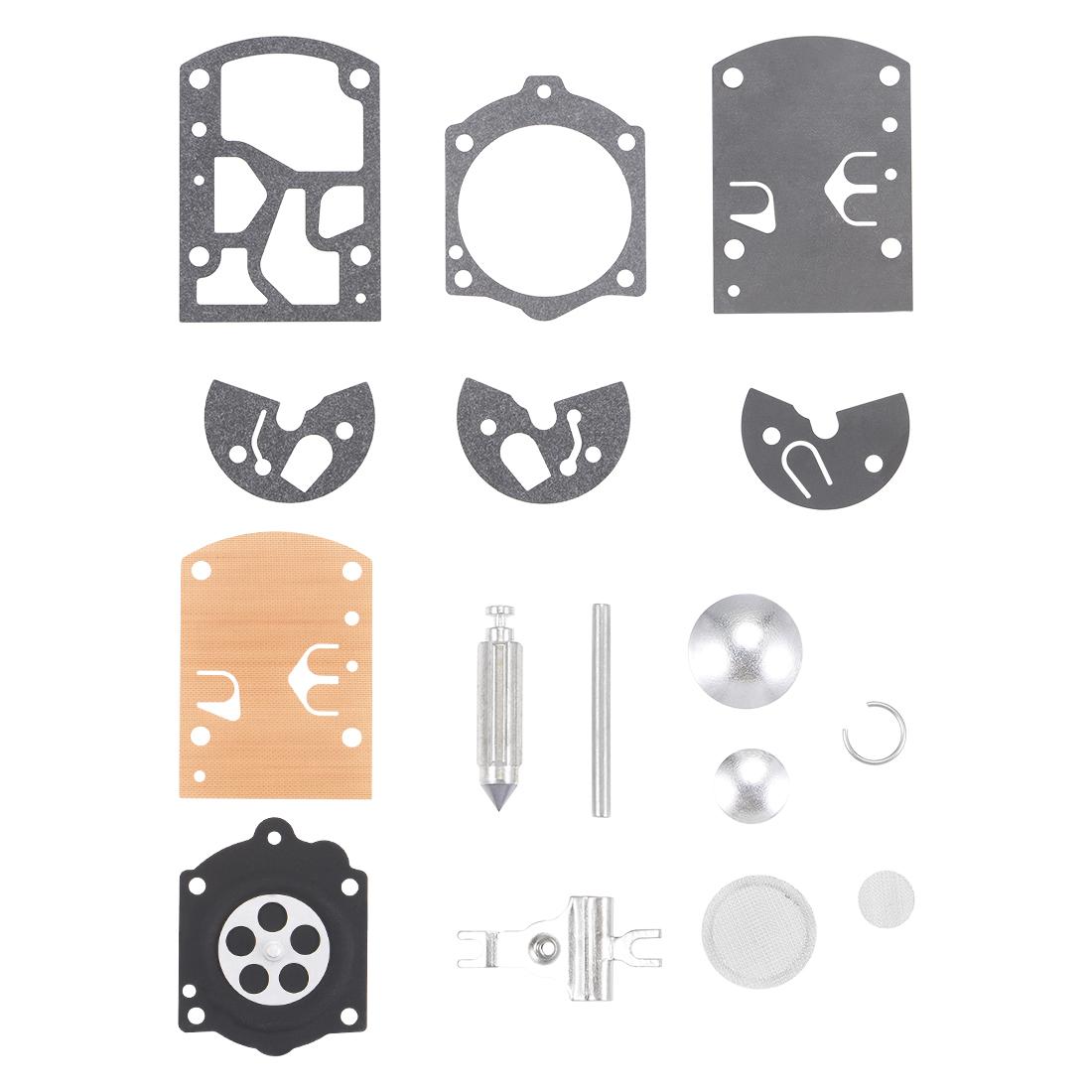 K10-WB Carburetor Rebuild Kit Gasket Diaphragm for K10-WB Engines Carb 3pcs