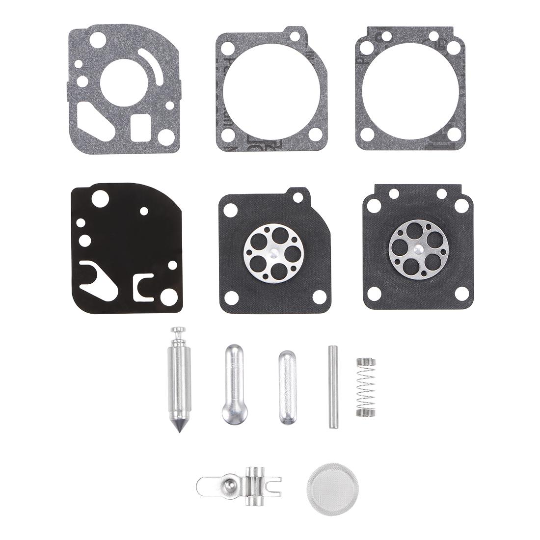 RB-73 Carburetor Rebuild Kit Gasket Diaphragm for RB-73 Engines Carb 3pcs