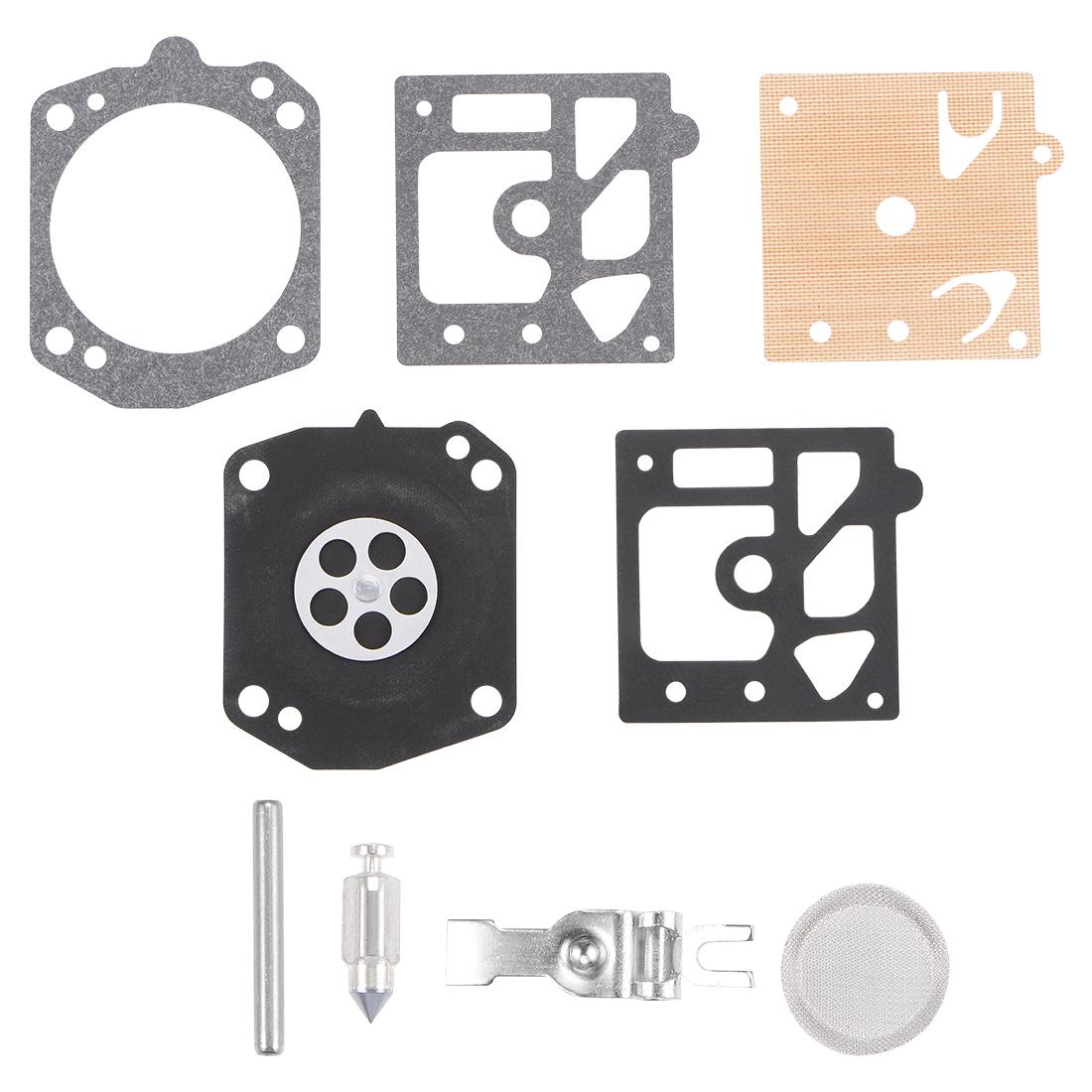 Carburetor Rebuild Kit Gasket Diaphragm for K10-HD Carburetor Carb 3pcs