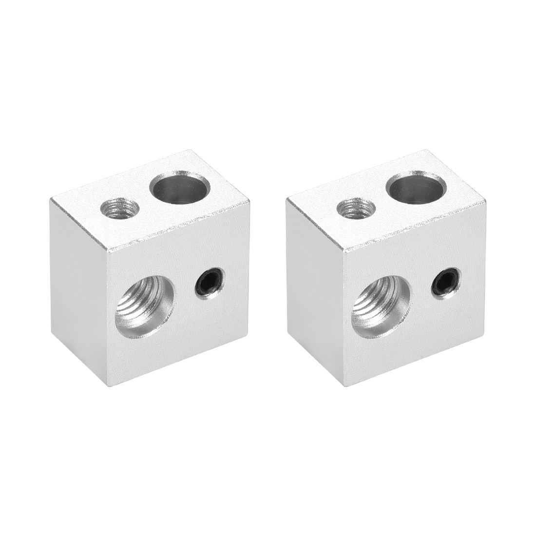Aluminum Heater Block, Specialized for MK10 M7 1.75mm Filament 2pcs
