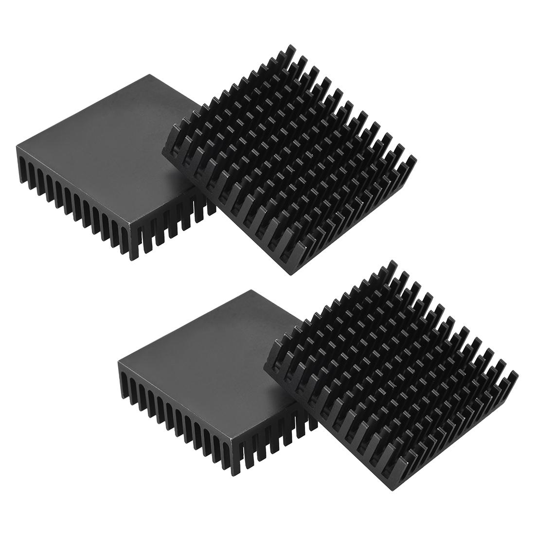 Heatsink for Cooling 3D Printers Cooler Heat Sink 40 x 40 x 11mm 4pcs