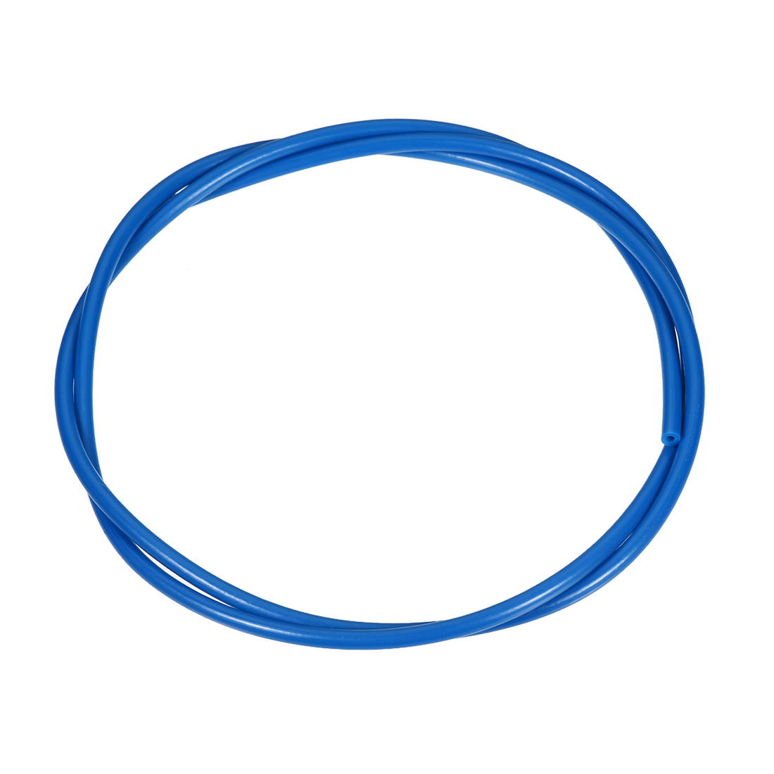 PTFE Tube 3.2Ft - ID 2mm x OD 4mm Fit 1.75 Filament for 3D Printer Blue