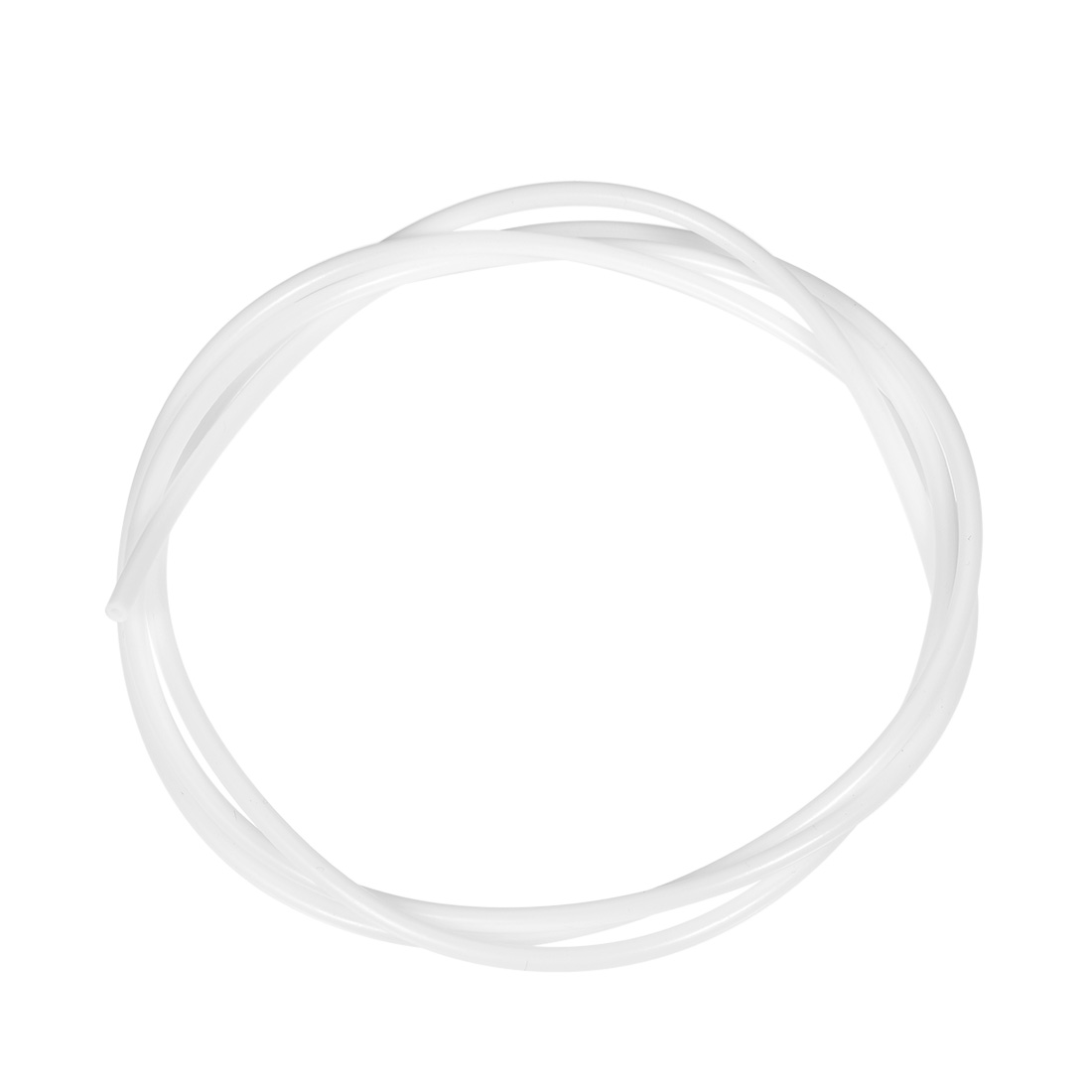 PTFE Tube 4.9Ft - ID 2mm x OD 4mm Fit 1.75 Filament for 3D Printer White