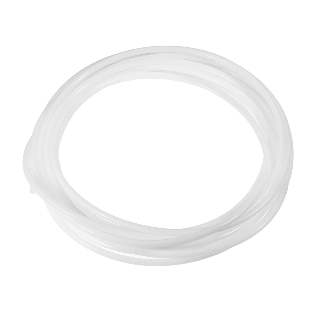 PTFE Tube 26Ft - ID 4mm x OD 6mm Fit 3mm Filament for 3D Printer White