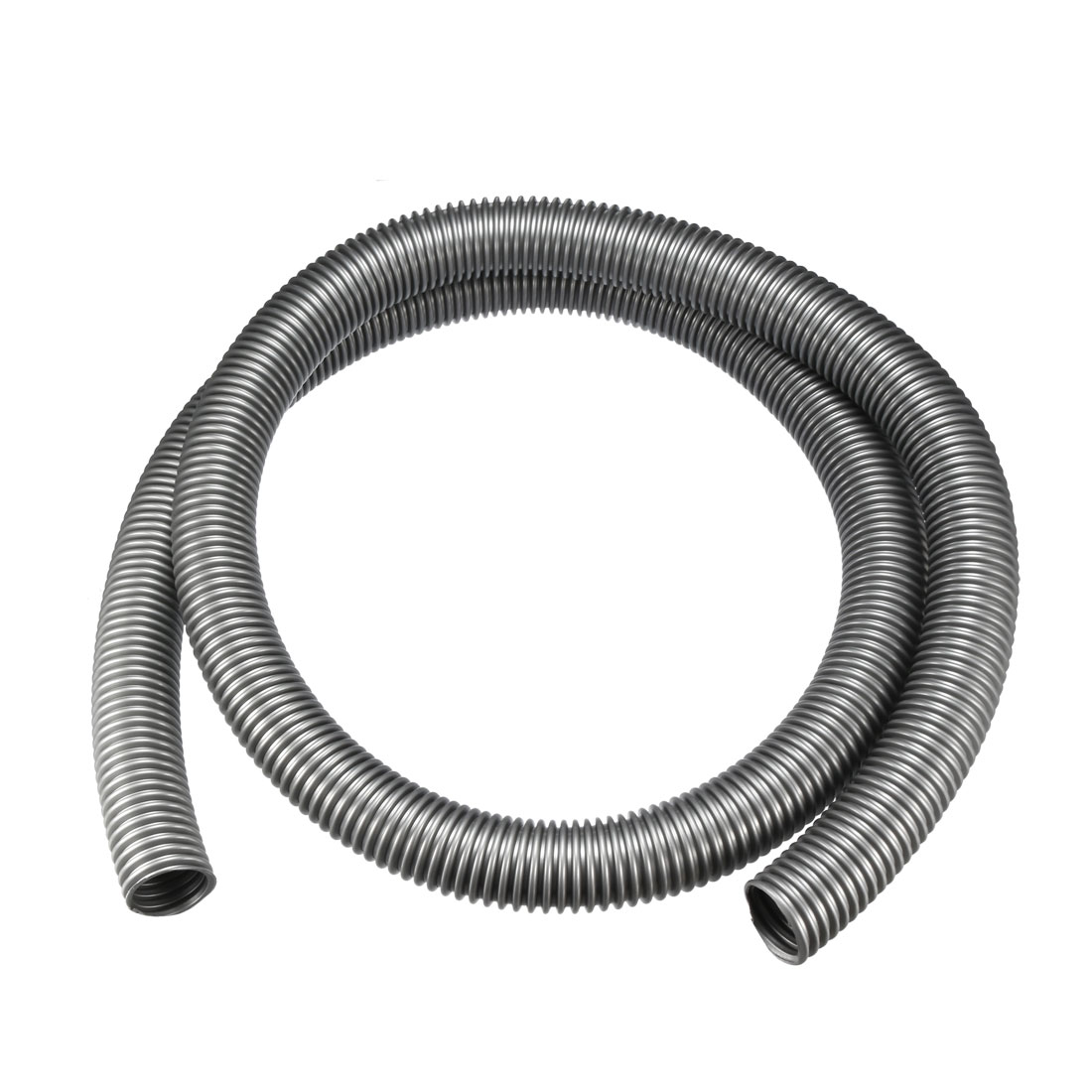 40mm 2M EVA Flexible Tube Central Vacuum Cleaner Hose Accessory Extension Gray