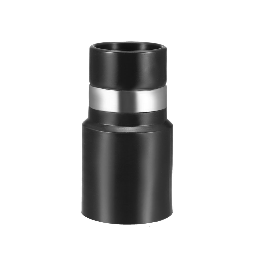 Central Vacuum Cleaner Hose Adapter Connector 32mm Plastic Black