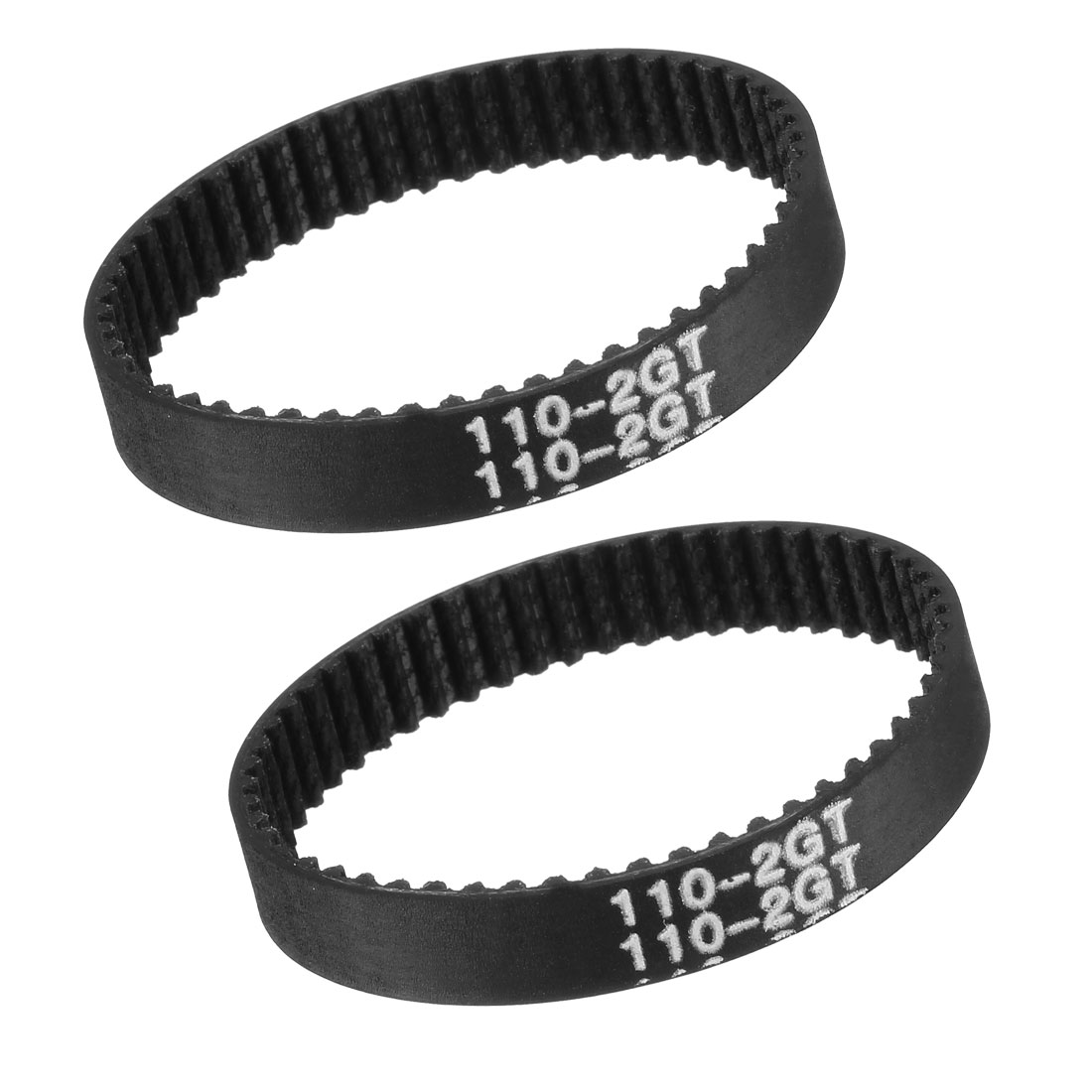 GT2 Timing Belt 110mm Closed Fit Synchronous Wheel for 3D Printer 2pcs
