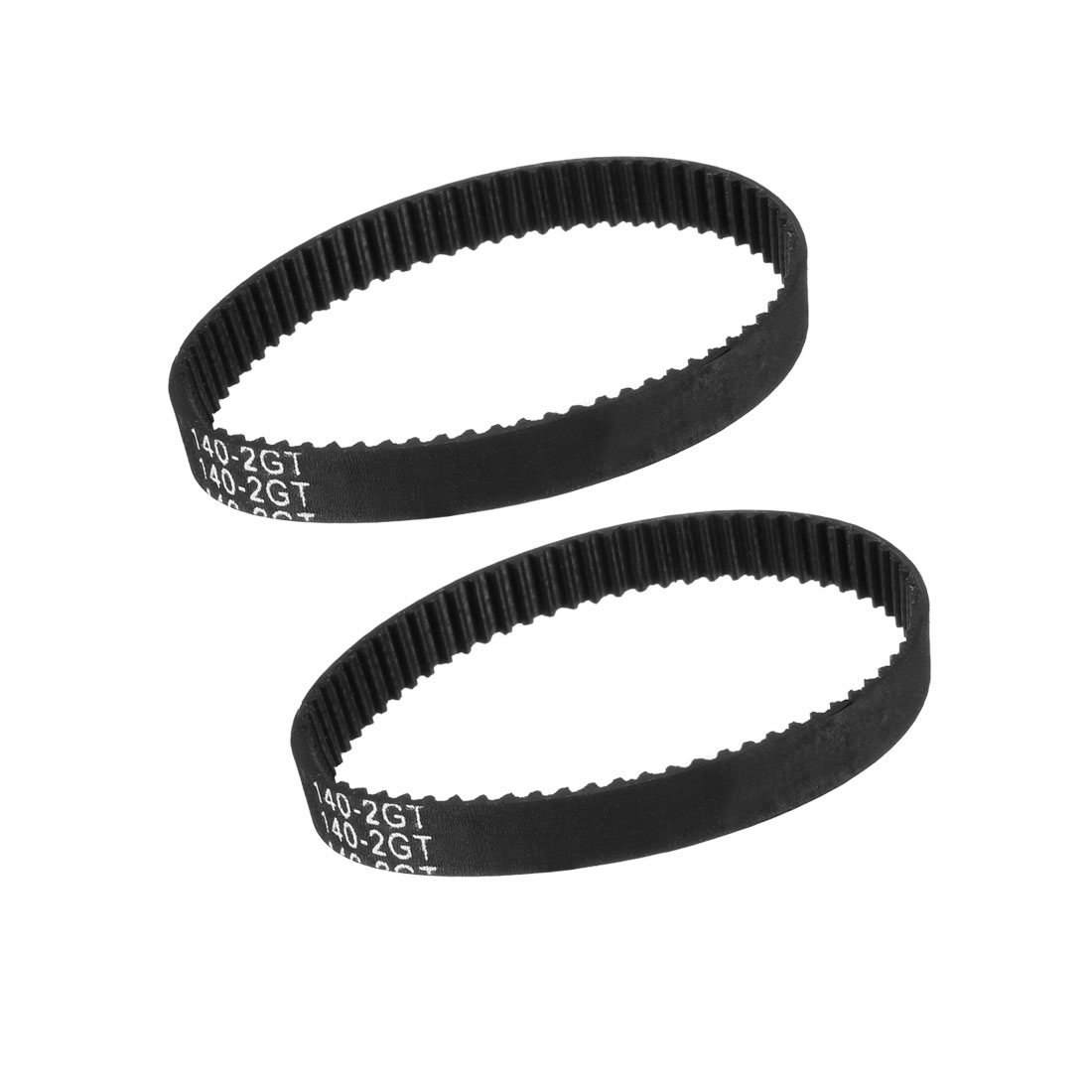 GT2 Timing Belt 140mm Closed Fit Synchronous Wheel for 3D Printer 2pcs