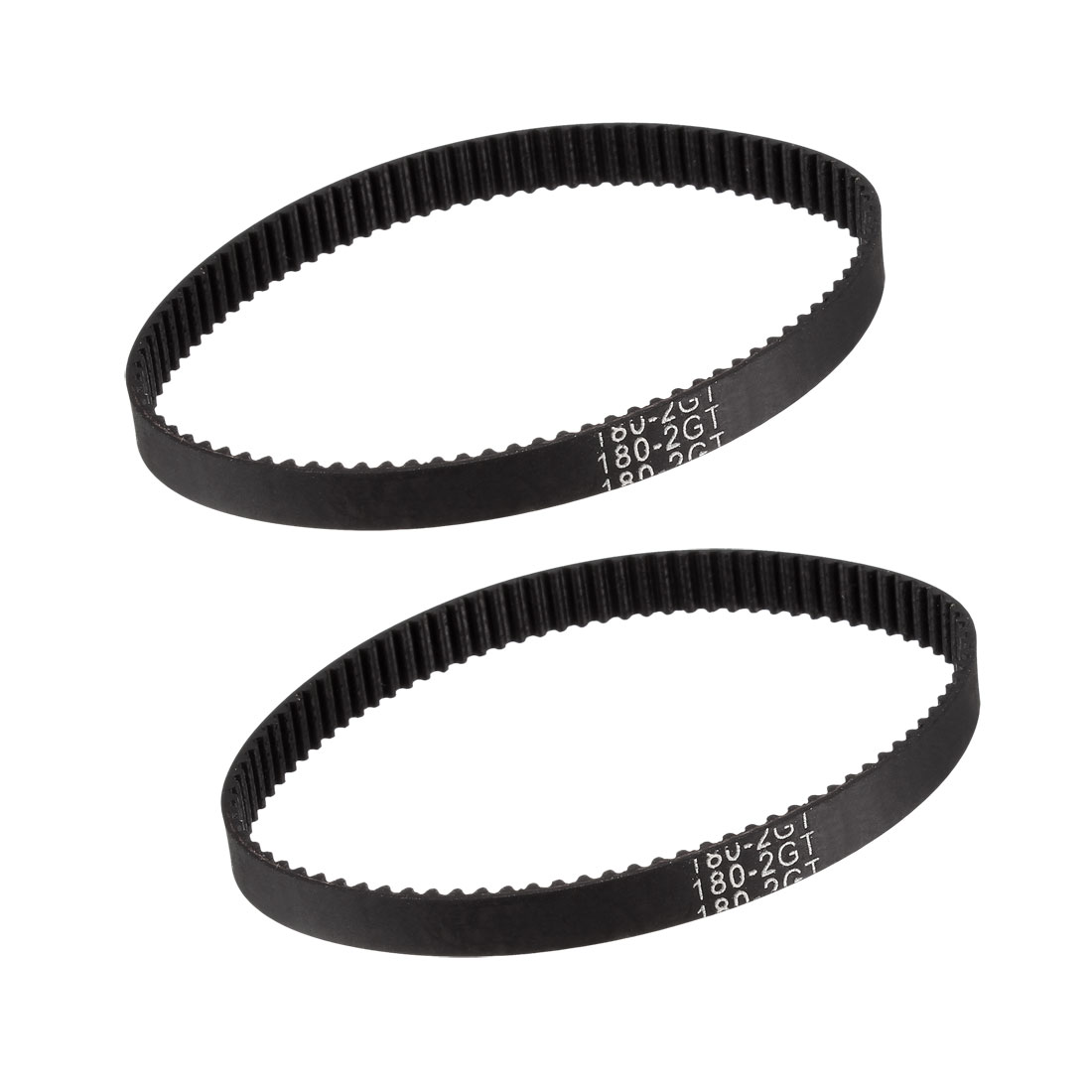 GT2 Timing Belt 180mm Closed Fit Synchronous Wheel for 3D Printer 2pcs