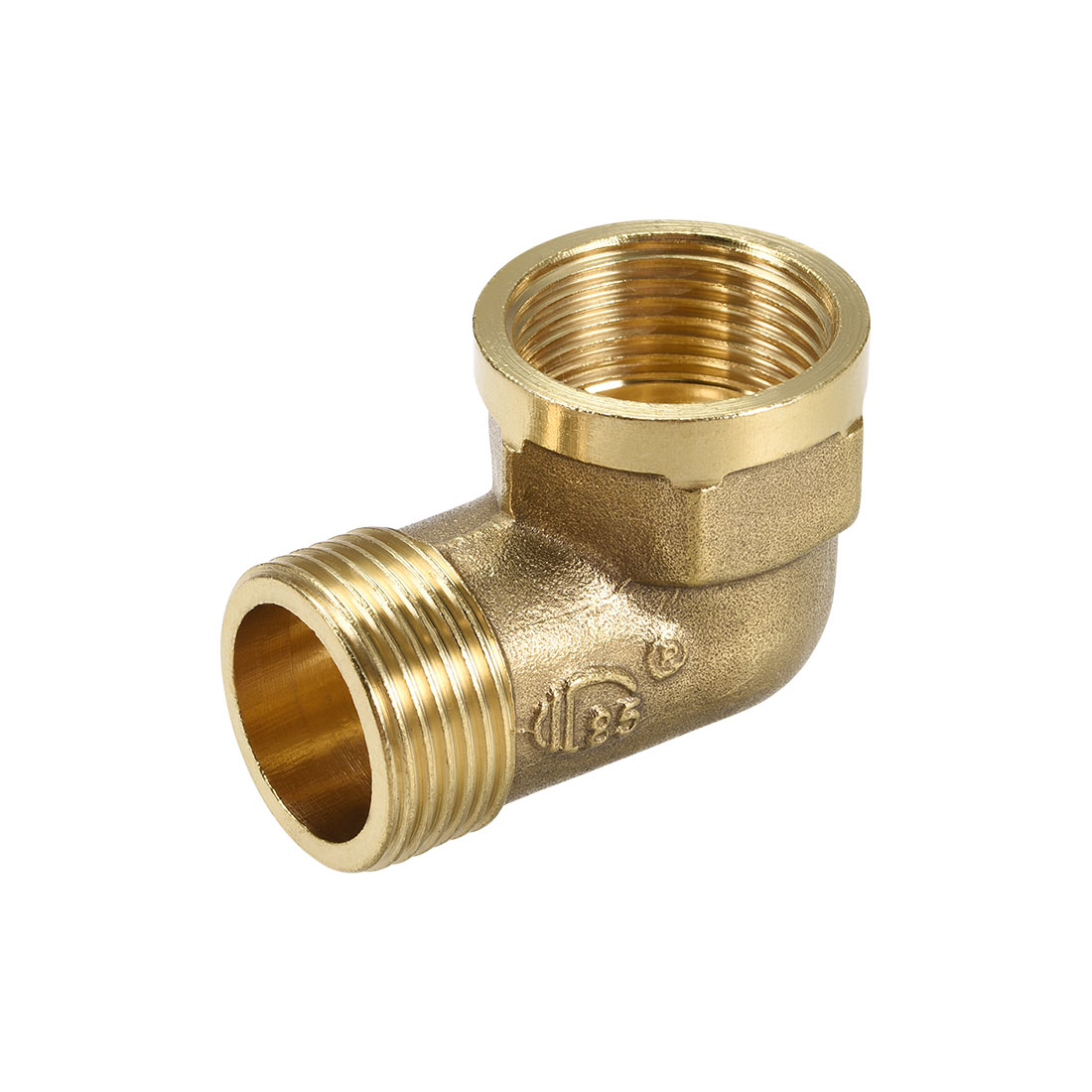 Brass Pipe Fitting 90 Degree Street Elbow G3/4 Male x G3/4 Female